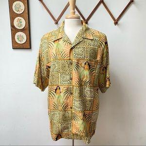 Tommy Bahama Silk Hula Hawaiian Shirt